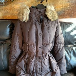Brand New with tags. Ralph Lauren Coat in Brown.